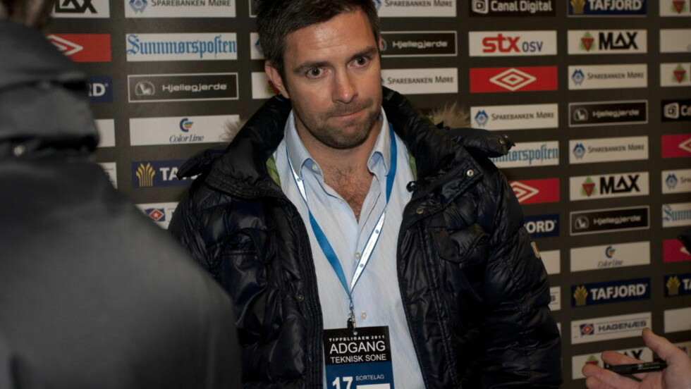STABÆK: Sportslig leder i Stabæk Inge André Olsen, og Vålerengas Truls Haakonsen er pågrepet av Økokrim. Foto: Svein Ove Ekornesvåg / Scanpix