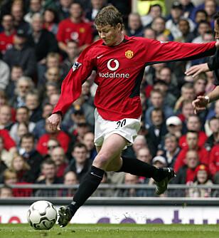 MANCHESTER: Solskjær var i Manchester United i elleve år. Foto: Tor Richardsen / SCANPIX