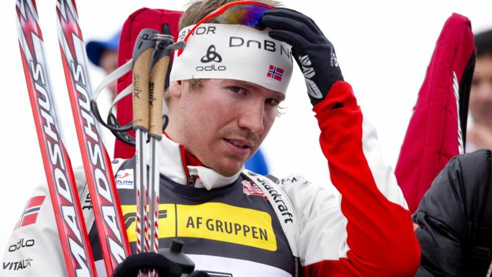STJERNE: Emil Hegle Svendsen sa nylig at han ikke ble dopingtestet på sju måneder, før han ble testet i oktober. FOTO: TORBJØRN BERG / DAGBLADET
