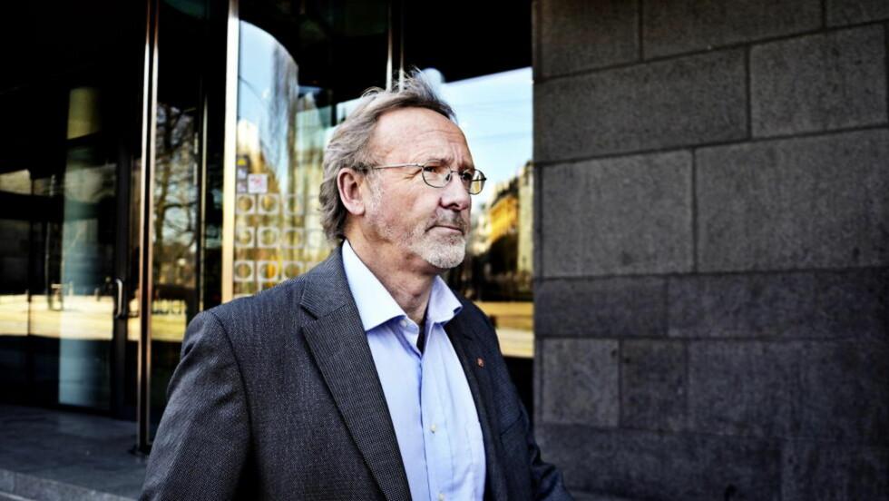 LEDER ORGANISERT MIDDELKLASSE: Unio-leder Anders Folkestad. Foto: Silje Eide
