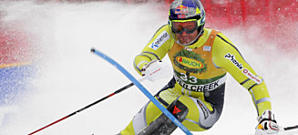 Lund Svindal kom på 41. plass