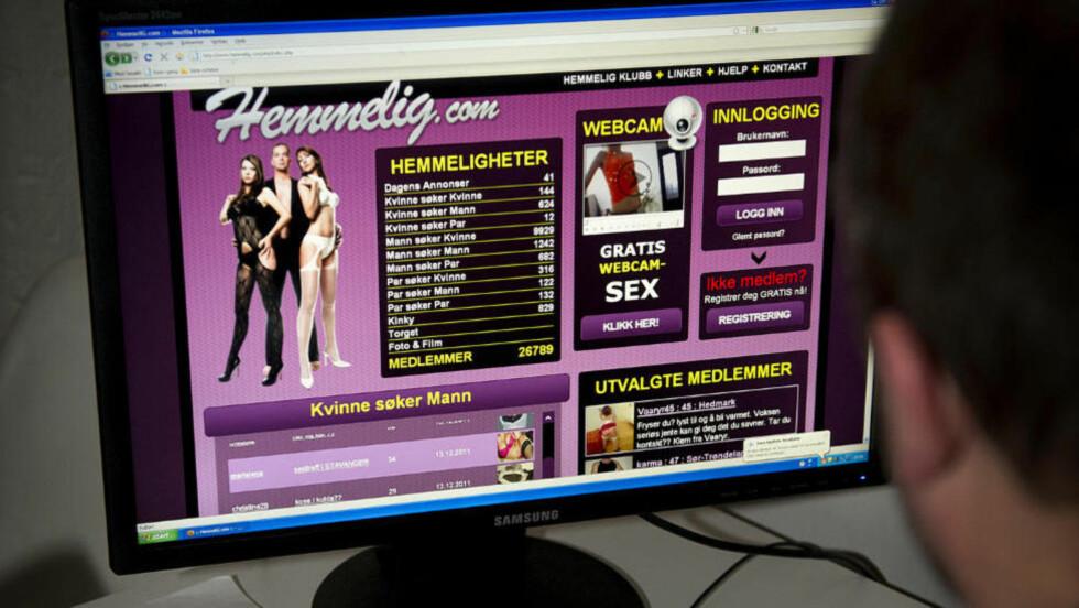 SEX-TORGET: En svært stor del av aktiviteten på Hemmelig.com består av sexkjøpere som forhandler pris og tjenester med prostituerte.