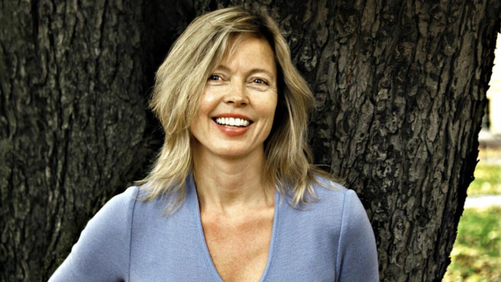 LOVENDE: Anita Berglunds andre krim vitner om en forfatter som både har talent for og trives med det hun driver med, mener anmelderen. Foto: GYLDENDAL