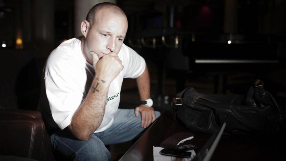 NEKTER: Paul Ray nekter for noen gang å ha hatt noe med Anders Behring Breivik å gjøre. Overfor Dagbladet hevder han nå at det finnes en annen, mulig mentor i Storbritannia. Foto: Hilde Mesics Kleven/Dagbladet