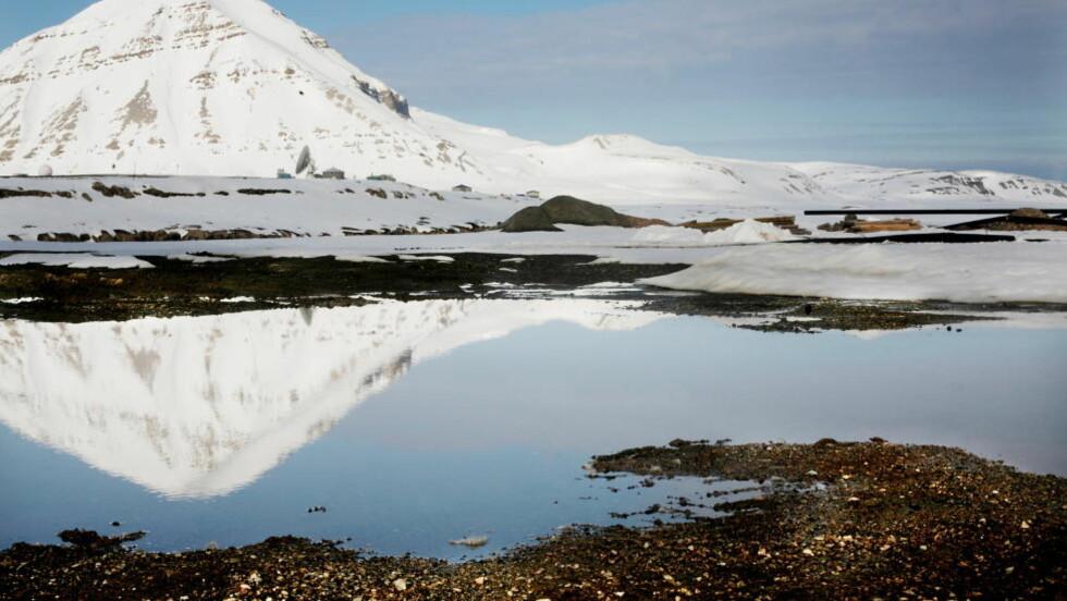 NY KULLGRUVE: Aps stortingsgruppe bestemte mandag at de ønsket å åpne en ny kullgruve tilknyttet Svea Nord, som er ventet å gå tom for kull i 2013. Bildet er tatt på Svalbard, men ikke av Lunckefjell. Foto: Linda Næsfeldt / Dagbladet