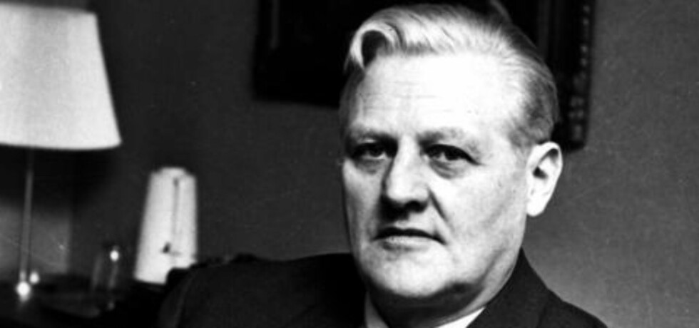 <strong> BESTEFAR:</strong>  Jurist, statsminister og utenriksminister John Lyng (1905-1978) er bestefar til nyoppnevnt Behring Breivik-dommer Arne Lyng. John Lyng var i sin juskarriere blant annet aktor i rettsoppgjøret etter andre verdenskrig mot Henry Oliver Rinnan og hans bande. Arkivoto: NTB/Scanpix.