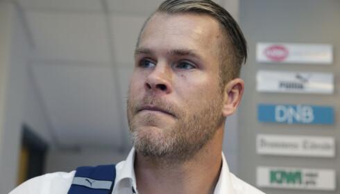 VISSTE IKKE HVEM GLESNES VAR: Godset-keeper Espen Bugge Pettersen kjente ikke til lagets nye stopper da han møtte på trening i august. Foto: Scanpix