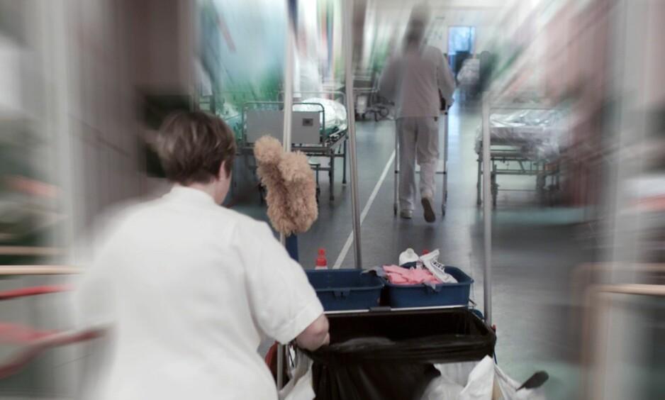 HELSE: Helsearbeidere er den yrkesgruppen som blir utsatt for mest vold og trusler. Illustrasjonsbilde, NTB scanpix