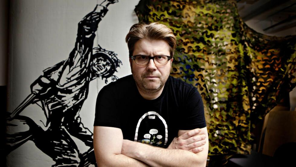 <strong>MILITÆRNEKTER:</strong> Are Sende Osen nektet i sin tid miliæret og hadde siviltjeneste på en barneskole. Nå har han forsøkt seg som både vernepliktig og befal i NRK-serien «Redd menig Osen», som har premiere på NRK 1 i kveld klokken 20.15. Foto: Lars Eivind Bones / Dagbladet