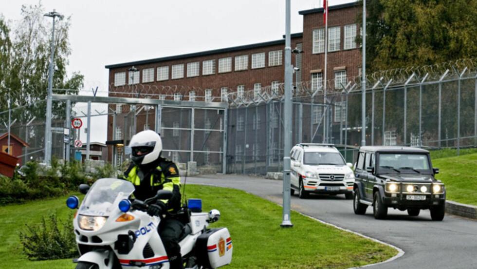 ILA:  Et psykologisk team som har undersøkt Anders Behring Breivik ved Ila, mener han ikke er psykogisk eller har behov for medisiner. Foto: Benjamin A. Ward