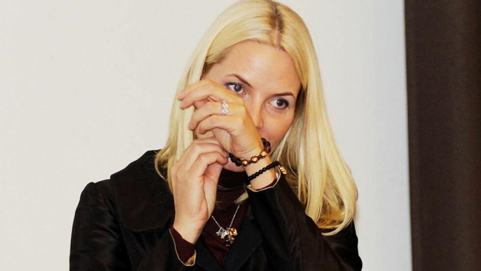 ÅNDELIG HØYHET: Mette-Marit har blitt åndelig. Derfor bruker hun hundretusen på smykker Justin Bieber og andre kjendiser har. Foto: Stella Pictures