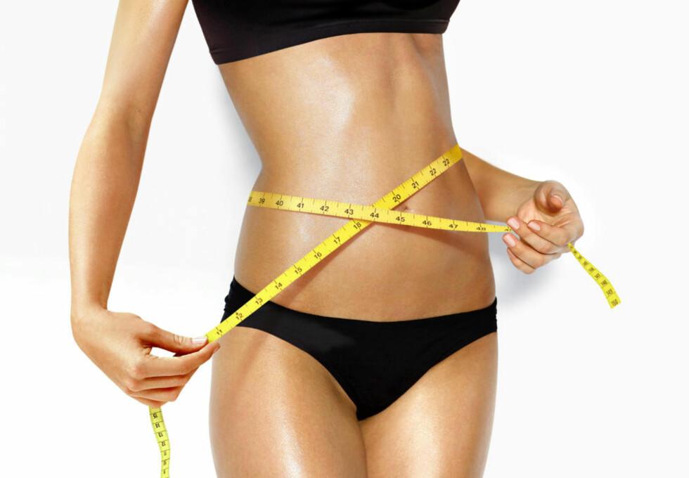 DRØMMEKROPPEN?  : Dersom du spiser ofte kan det være lettere å unngå såkalt overspising viser en ny studie. På denne måten kan du kanskje komme ett steg nærmere drømmekroppen. Foto: COLOURBOX