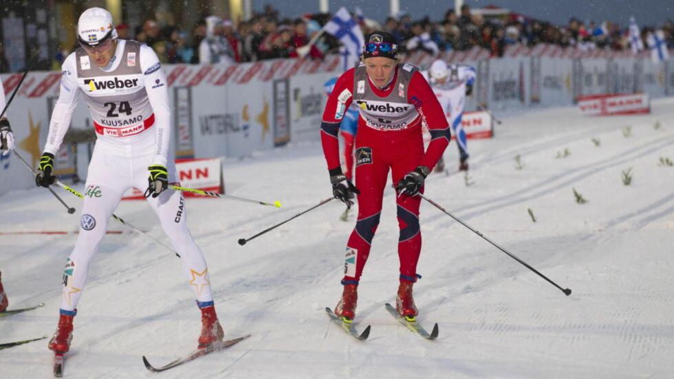 VANT: Eirik Brandsdal vant sprinten i Milano foran blant annet svenske Teodor Peterson. Foto: Terje Bendiksby / Scanpix