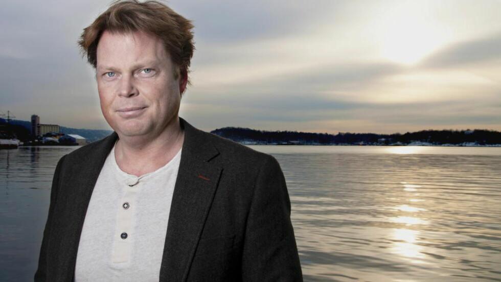 BARNEBOKDEBUT: Jørn Lier Horst gjør suksess som krimforfatter for voksne. Nå debuterer han også med en ny krimserie for barn. Foto: Melisa Fajkovic / Dagbladet.
