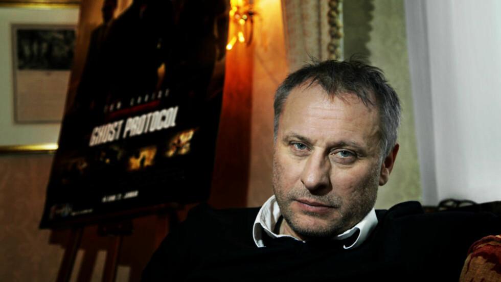 SPILLER SKURK: Michael Blomkvist, kjent fra blant annet Millennium-filmene, spiller storskurk i «Mission: Impossible - Ghost Protocol». Foto: Steinar Buholm / Dagbladet.