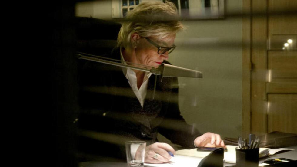 ALVORLIG: - Denne saken er svært omfangsrik og alvorlig, sier bistandsadvokat Gunhild Lærum. Hun representerer de tre mindreårige barna. Foto: Øistein Norum Monsen/Dagbladet
