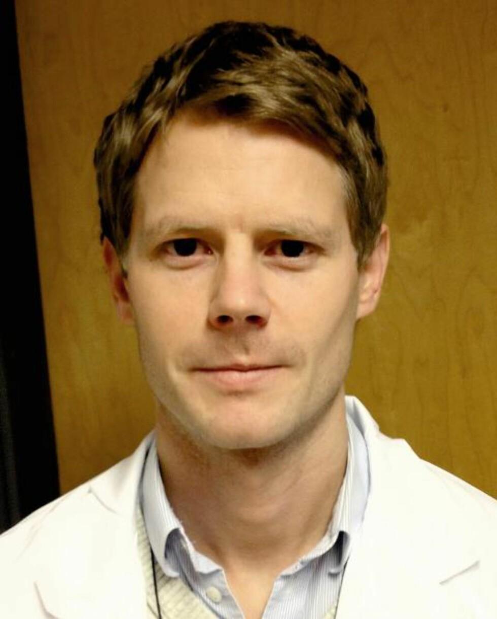 FORSKER:  Torbjørn Elvsåshagen ved Avdeling for nevropsykiatri og psykosomatisk medisin på Rikshospitalet