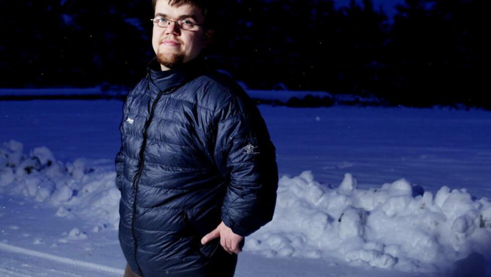 HJEMME:  1. desember flytta Fredrik Alden Thorsen, som nå er å se i serien «Ingen grenser» på NRK, inn i sitt nye hus på hele 388 kvadratmeter. Det drømmer han om å dele med en kjæreste og mange barn. Foto: Paul S. Amundsen / Dagbladet