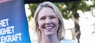 Sylvi Listhaug har begynt å blogge: - Forventer reaksjoner