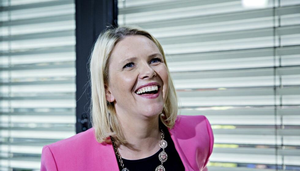 NUMMER TO: Sylvi Listhaug er plassert på andreplass av nominasjonskomiteen for Møre og Romsdal. Foto: Nina Hansen / Dagbladet