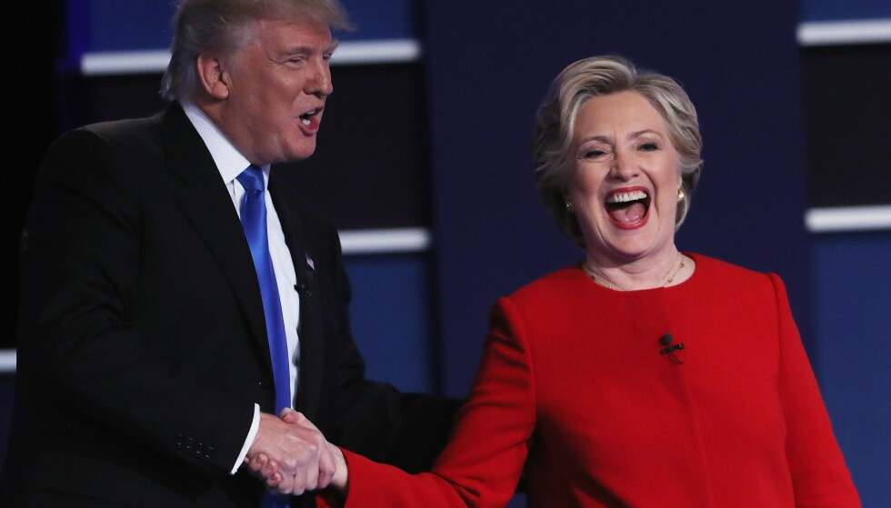 TRUMP I TRØBBEL: Donald Trump har akkurat tapt den første presidentdebatten mot Hillary Clinton så det sang. Siden har det bare gått verre.