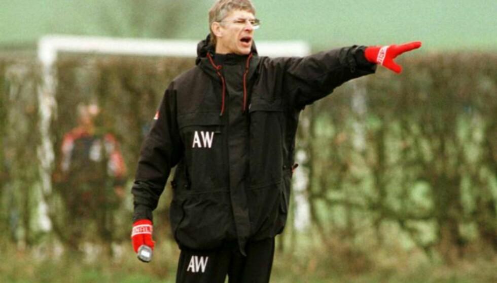 NYE RUTINER: Wenger revolusjonerte Arsenal da han kom til klubben. Foto: FourFourTwo/Haymarket