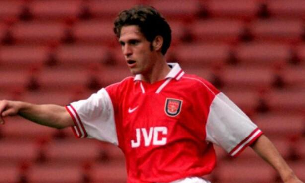 UNG: Adrian Clarke var i Arsenal fra 1991 til 1997 og fikk ni kamper for førstelaget. Foto: FourFourTwo/Haymarket