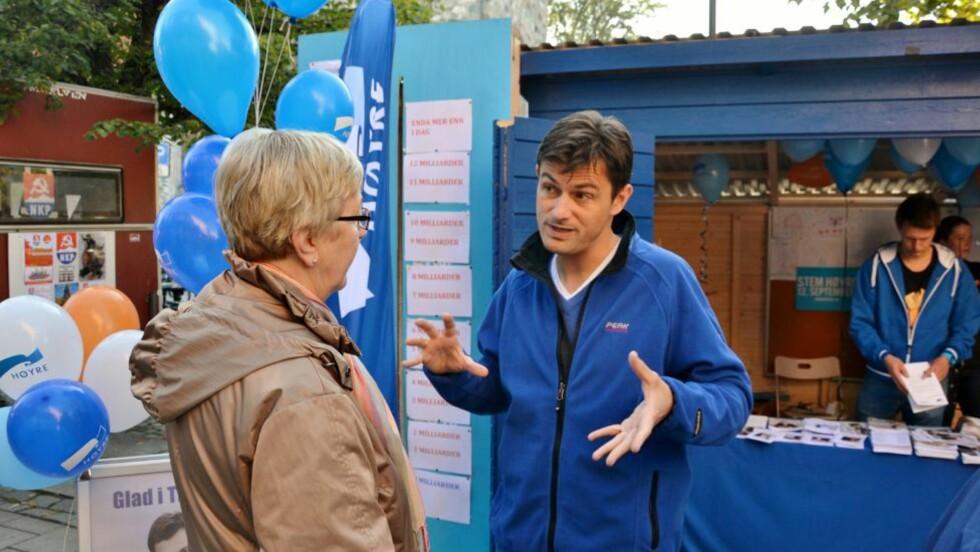 LEDET KLART: Høyres ordførerkandidat Yngve Brox i Trondheim. Foto: OIe-Morten Johansen, Dagbladet