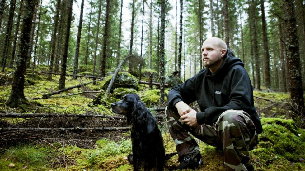 Kristoffer (34) lurte Norge til å tro han bodde ett år i marka