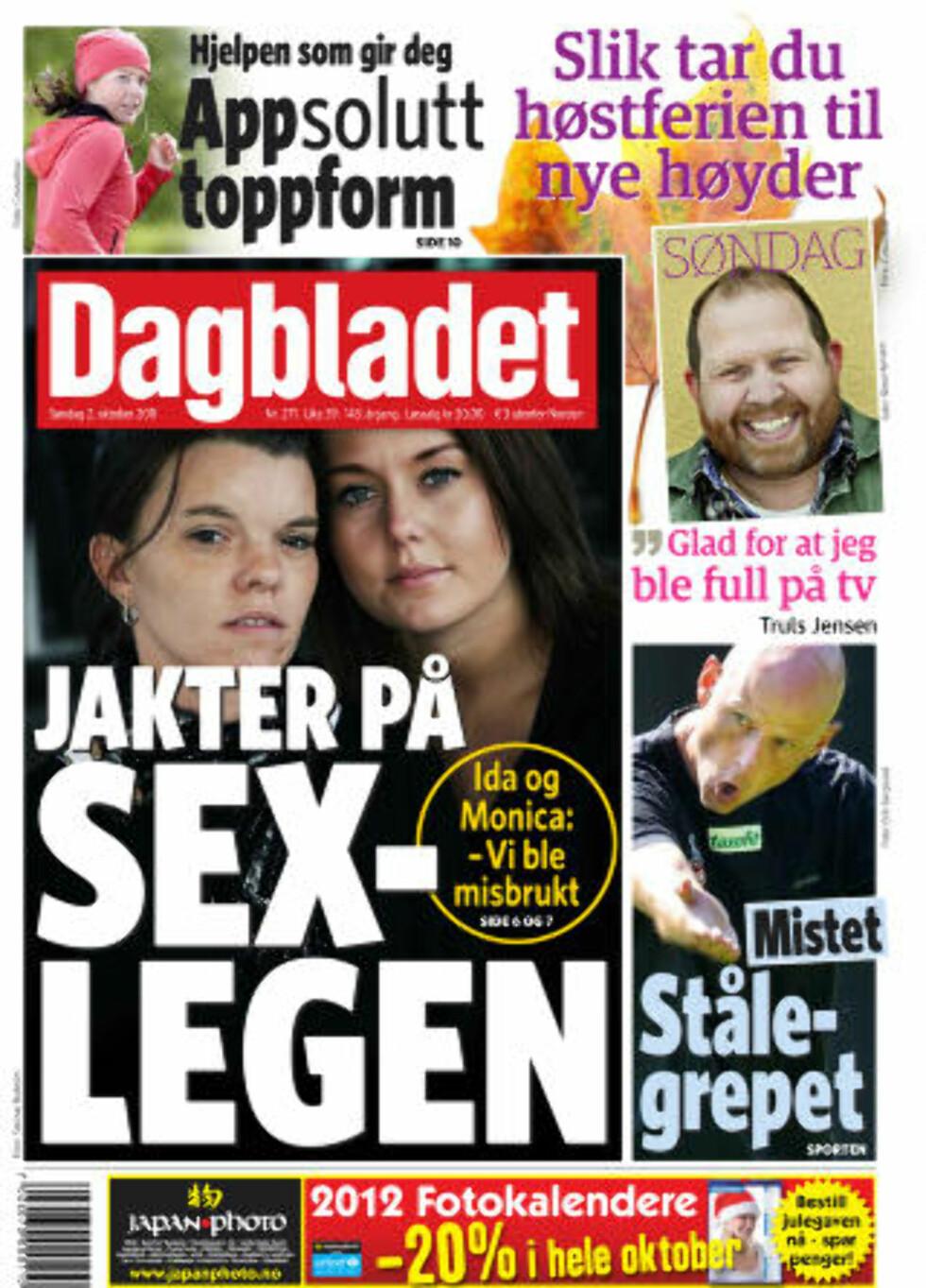 Dagbladet omtalte i går den 44-årige legen som er dømt for overgrep.