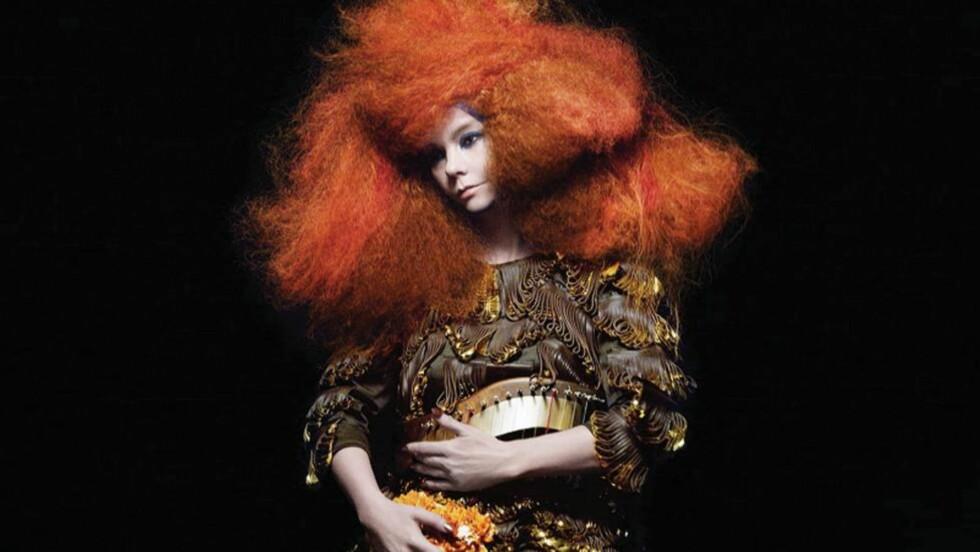 BLIR ROMANFIGUR: Plateaktuelle Björk blir i høst å finne i Mette Karlsviks roman «Bli Björk». Det synes hun er litt ekkelt.. Foto: Universal