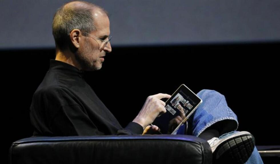 ENDA EN REVOLUSJON: iPad kom på markedet i 2010. Foto: SCANPIX
