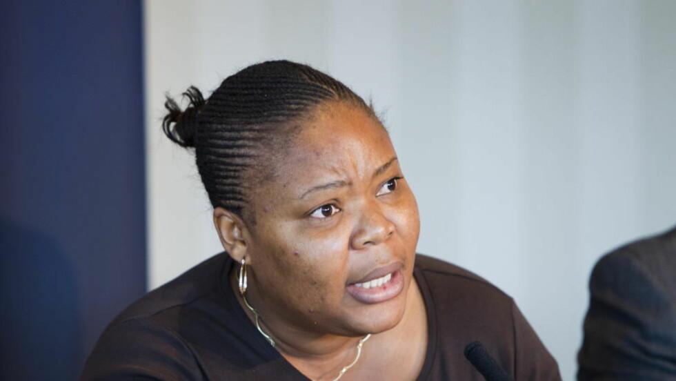 EN AV TRE VINNERE: Leymah Gbowee er en fredsforkjemper fra Liberia. Foto: Berit Roald / Scanpix