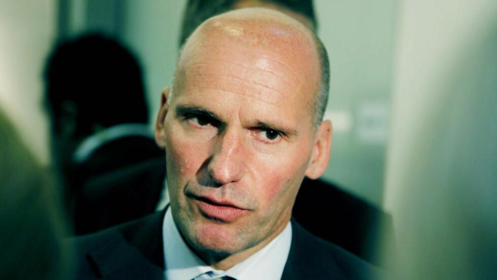 NYE AVHØR:  Anders Behring Breivik sitter i kveld i nya avhør. Avhørene har omhandlet radikaliseringspunkter sier forsvarer Geir Lippestad  Foto: Jacques Hvistendahl
