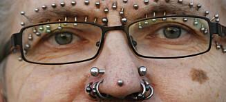 Rolf (53) har flest piercinger i hele verden
