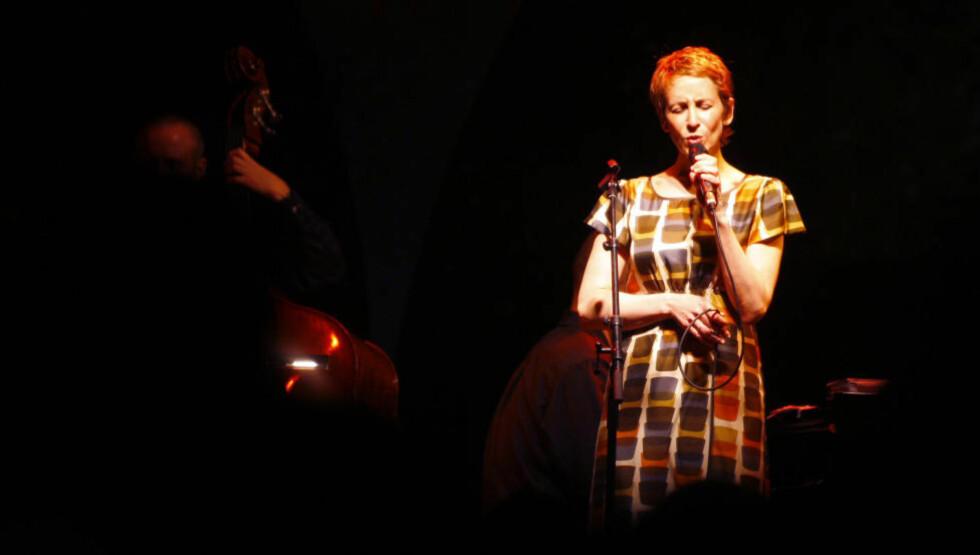 I VEKST: Stacey Kent på Nice Jazz Festival i 2008. Nå er den albumaktuelle sangeren klar for Cosmopolite på Soria Moria i Oslo FOTO: AFP/VALERY HACHE