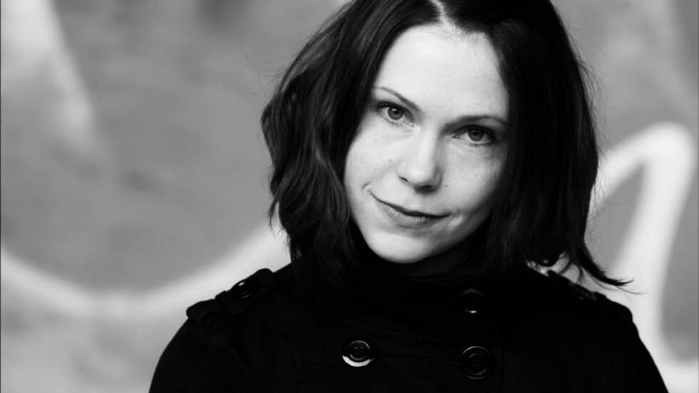 NOMINERT:  Mette Karlsvik for romanen «Bli Björk». Foto: privat