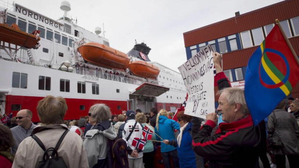 - STYGT: De fleste stedene Hurtigruten stopper ved langs kysten er stygge, sier Trond Blindheim. Likevel synes vi det er rørende vakkert.  Foto: Heiko Junge / Scanpix