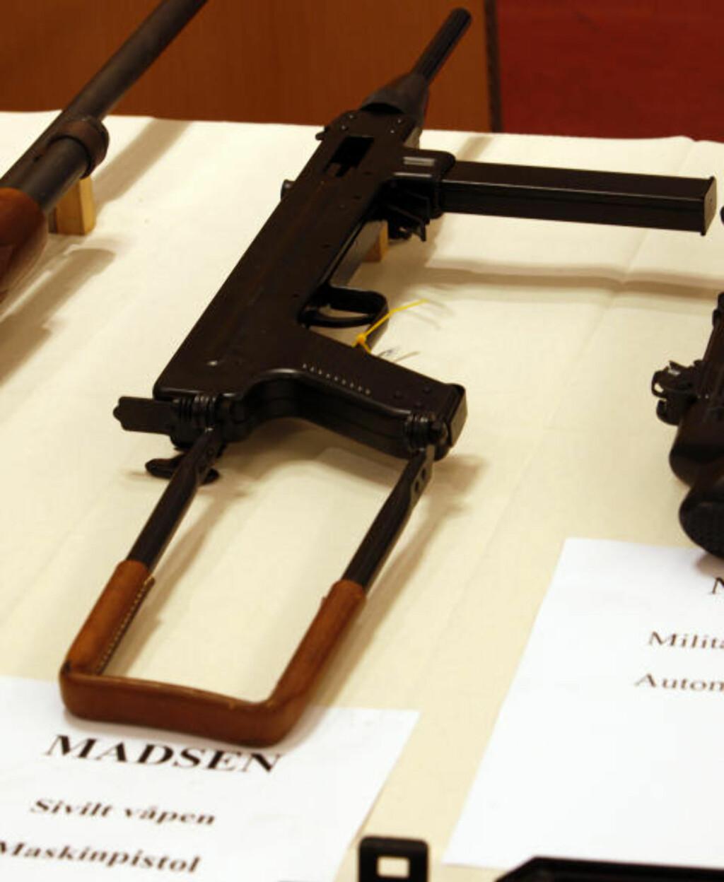 BESLAG: Politiet har beslaglagt dette våpenet fra 29-åringen tidligere. Foto: Scanpix
