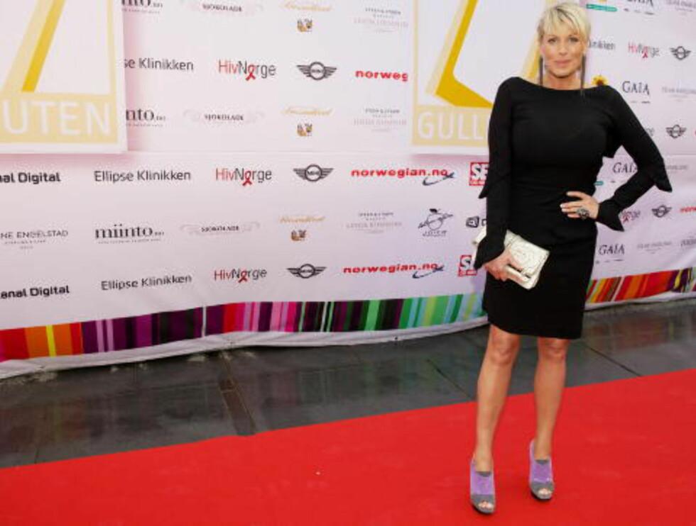 TRONER ØVERST: Anne-Kat. Hærland er Norges mest populære kvinnelige programleder.