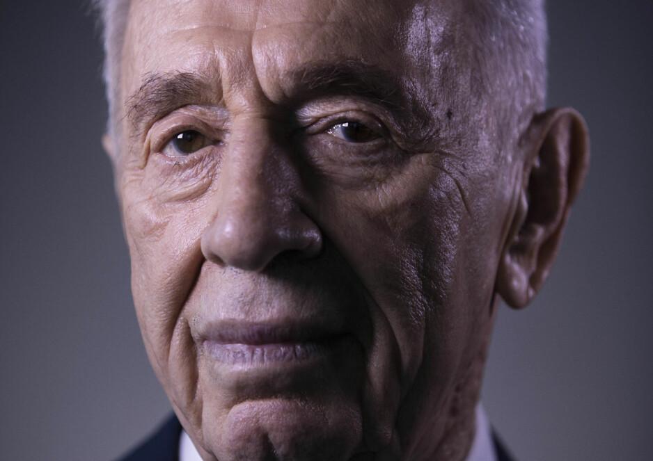 DØD: Israels tidligere president Shimon Peres. Foto: AP Photo/Oded Balilty / NTB Scanpix