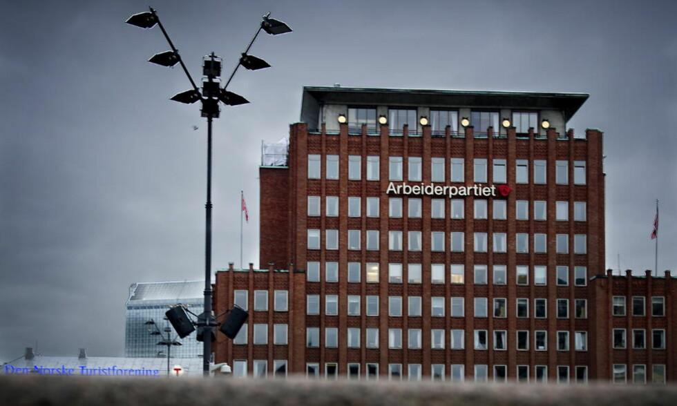 FOLKETS HUS I OSLO: Arbeiderpartiets hovedkvarter på Youngstorget i hovedstaden. Foto: John T. Pedersen / Dagbladet