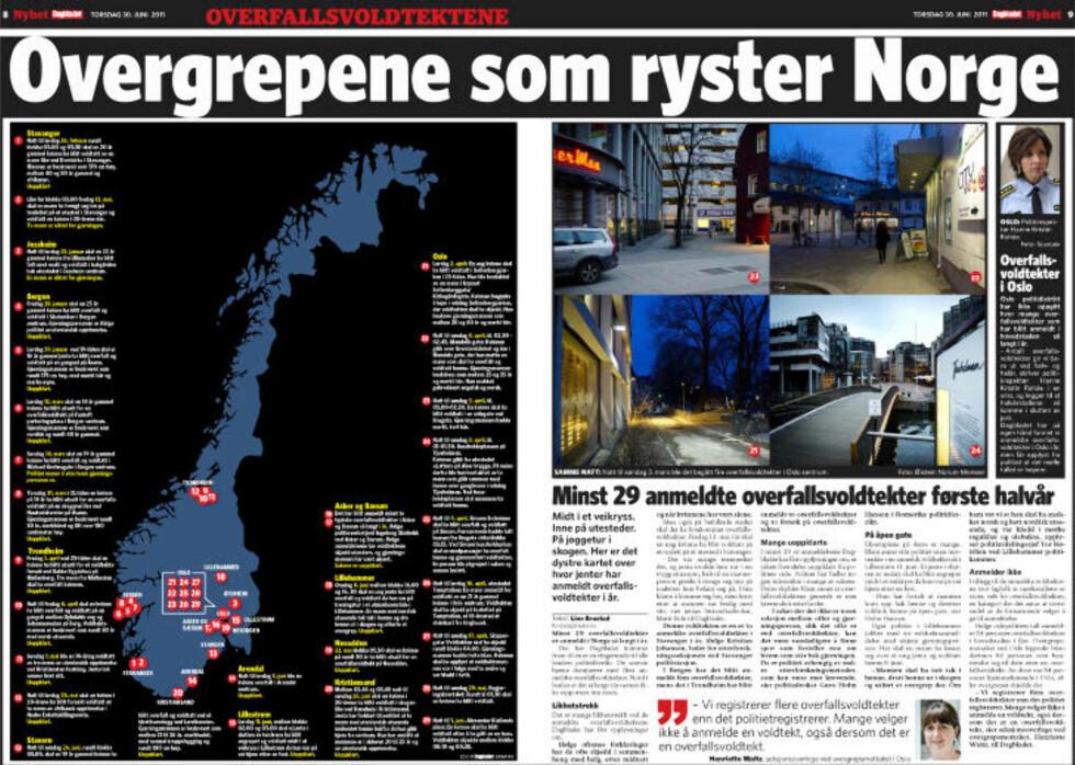 Dagbladet 30. juni 2011.
