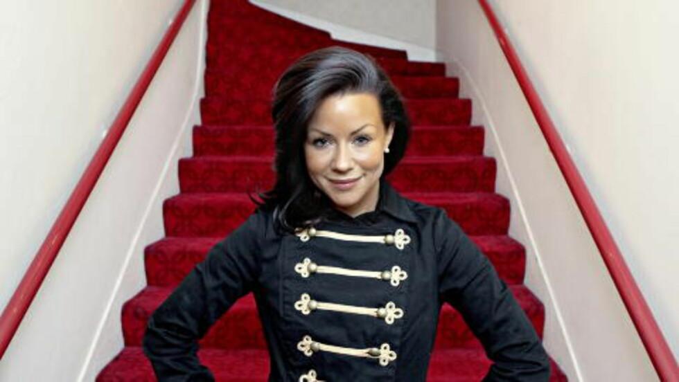 DISTANSERTE SEG:  Lene Alexandra Øien forteller til Dagbladet at hun farget håret mørkt for å distansere seg fra Boobs-Lene. Bildet er fra i fjor. Foto: Lars Eivind Bones / Dagbladet