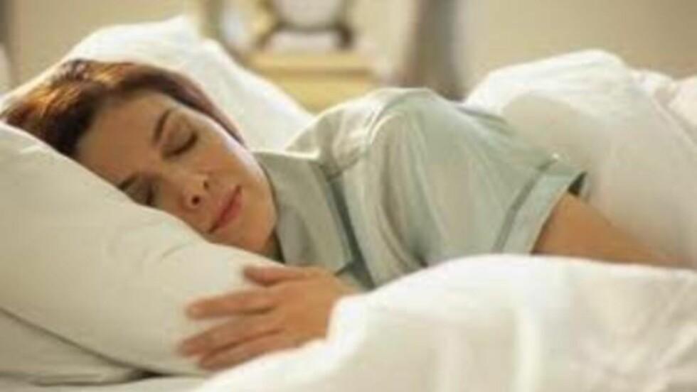 DRØMMELAND: En god natts søvn er viktig, og hvordan du har det på soverommet betyr mye for natteroen. Foto: Colourbox