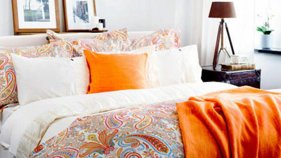 INNBYDENDE: At sengen er et sted du gleder deg til å krype opp i når dagen er over, gjør faktisk mye for søvnvanene dine. Foto: Gant/Produsenten