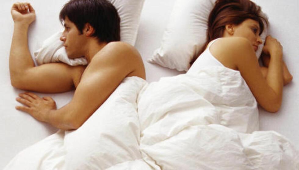 SENGEKOS: Det er viktig å ta hensyn til begges behov når man innreder soverommet. Foto: Colourbox