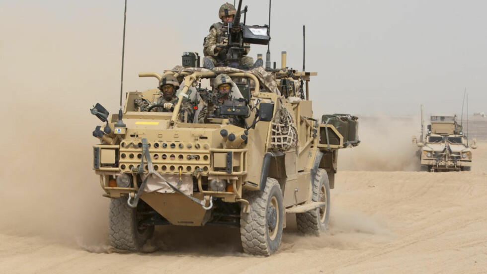 VAR FOR FÅ: Storbritannia var for få da de skulle ta kontroll i Helmand-provinsen i Afghanistan. Storbritannia har hittil mistet 376 soldater i Afghanistan. Foto: Shamil Zhumatov/REUTERS