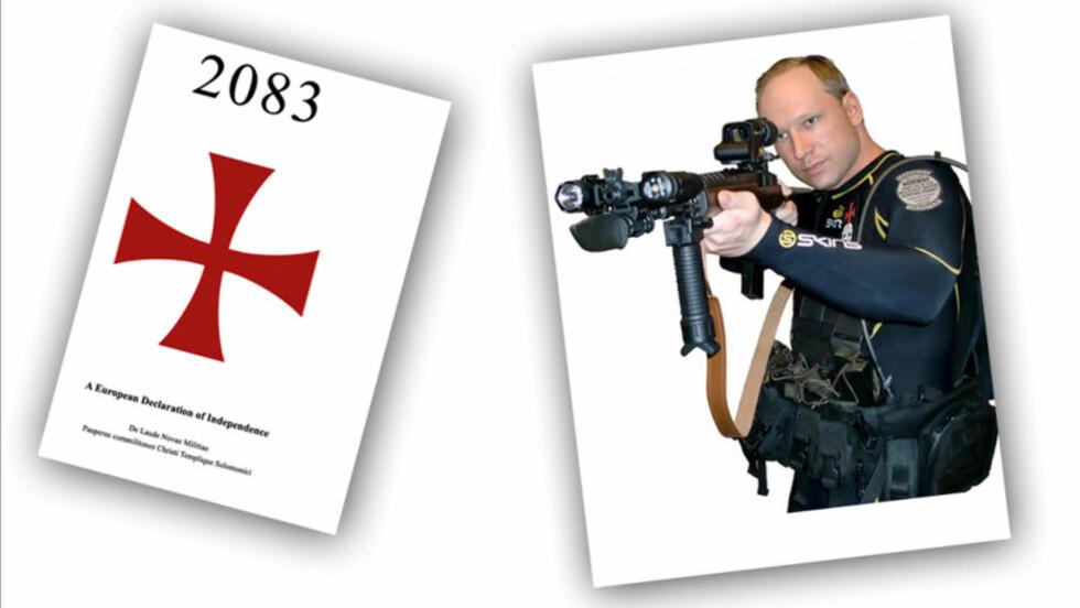 MANIFESTET: Anders Behring Breivik er en filosofisk bløffmaker, ifølge forsker Pål Foss.