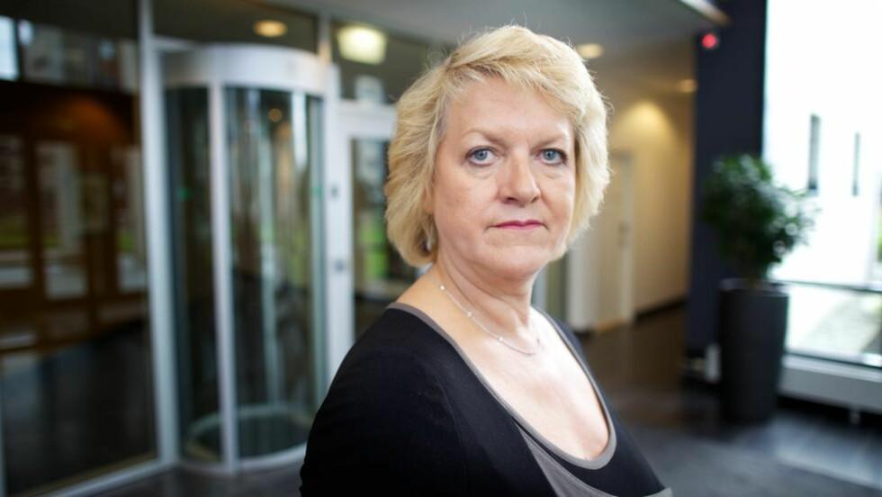 UMULIG Å FANGE OPP: PST-sjef Janne Kristiansen sier de ikke hadde mulighet til å fange opp planen til Anders Behring Breivik. Foto: EIRIK HELLAND URKE